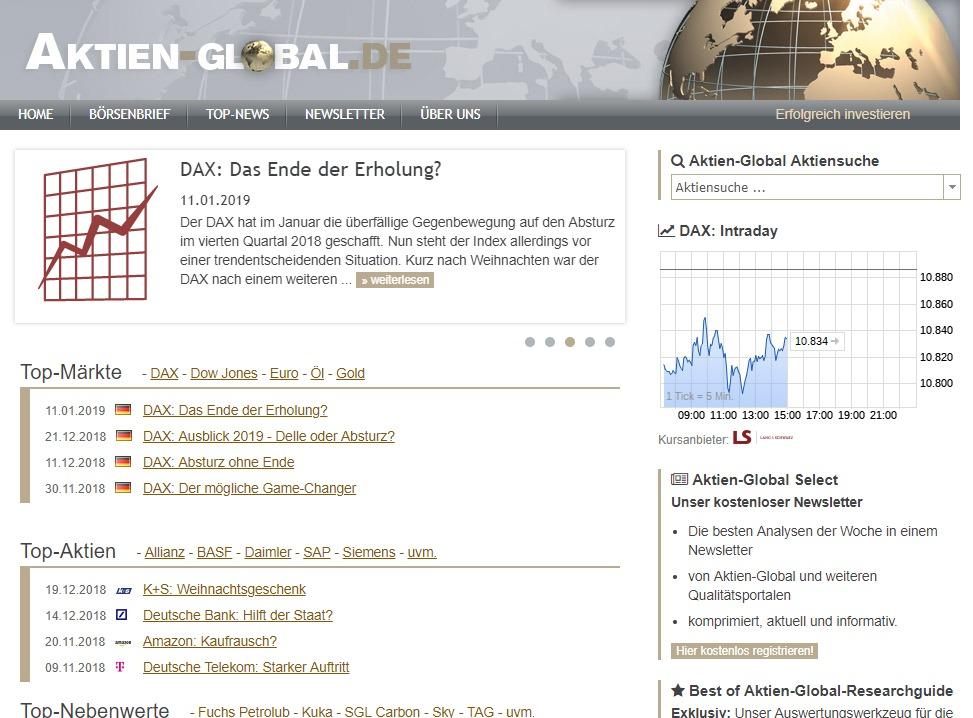Screenshot aktien-global.de